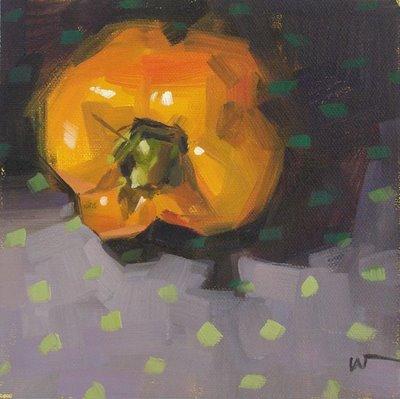 """Out of the Dark"" original fine art by Carol Marine"