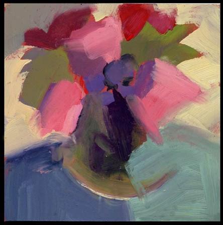 """2485 buttoned up"" original fine art by Lisa Daria"