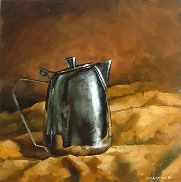 """Proud Creamer"" original fine art by Michael Naples"