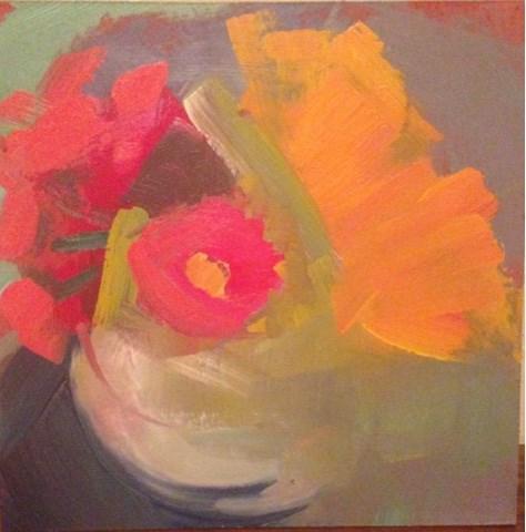 """""""2655 sprigs"""" original fine art by Lisa Daria"""