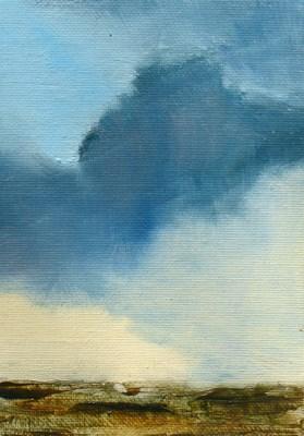 """""""CLOUD III"""" original fine art by Susan Hammer"""
