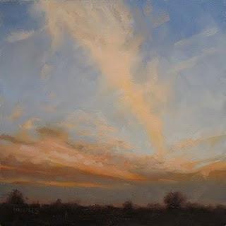 """Sunset"" original fine art by Michael Naples"