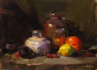 """Demo at Lake Martin, AL 1 --- Sold"" original fine art by Qiang Huang"