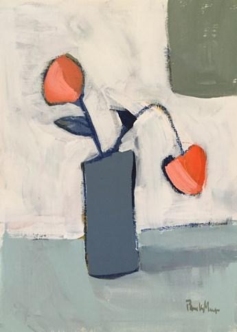 """""""Grey Vase"""" original fine art by Pamela Munger"""