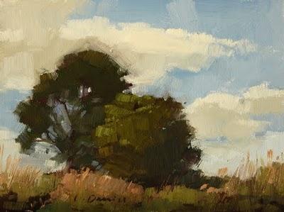 """""""Marsh Banks"""" original fine art by Laurel Daniel"""