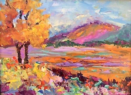 """""""Colorado Color"""" original fine art by Liz Zornes"""
