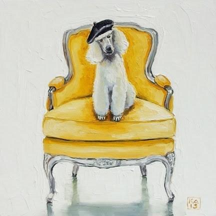 """le petit prince"" original fine art by Kimberly Applegate"
