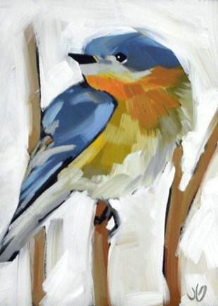 """Bluebird II"" original fine art by Jessica Green"