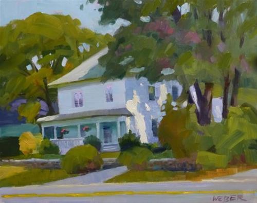 """Almost Autumn"" original fine art by Kathy Weber"