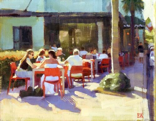 """Paintings of Fort Lauderdale"" original fine art by Kathy Weber"