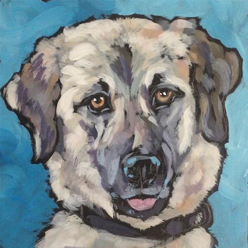 """Shiloh"" original fine art by Kat Corrigan"