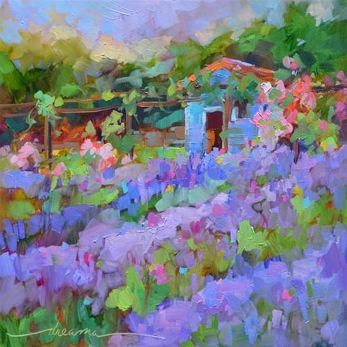 """""""Second Chance for France and The Magic of Lavender"""" original fine art by Dreama Tolle Perry"""
