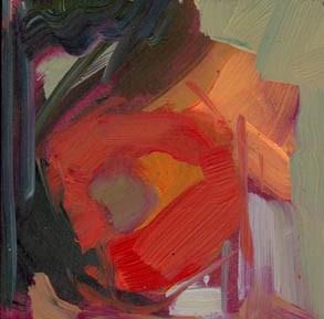 """1262 dark window"" original fine art by Lisa Daria"