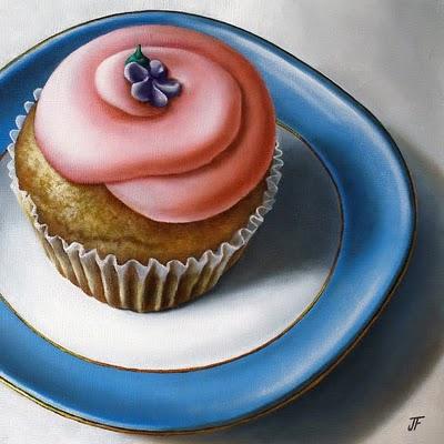 """Pretty In Pink"" original fine art by Jelaine Faunce"