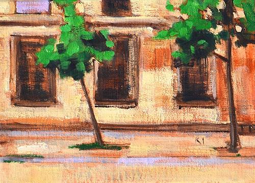 """Ciutadella, Barcelona"" original fine art by Kevin Inman"