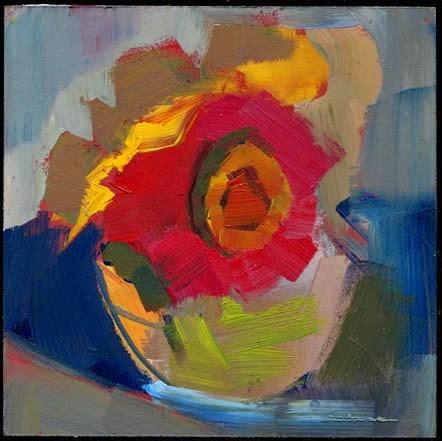 """2081 Rough and Tumble"" original fine art by Lisa Daria"