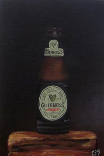 """""""Guiness"""" original fine art by ~ces~ Christine E. S. Code"""