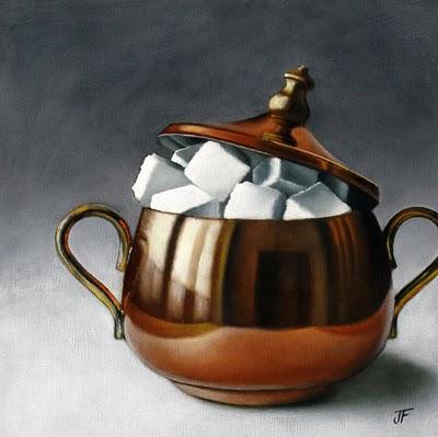 """Sugar Study III"" original fine art by Jelaine Faunce"