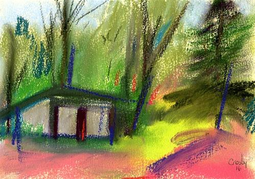 """How It Felt"" original fine art by Donna Crosby"