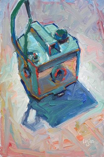 """Savoy Camera"" original fine art by Raymond Logan"