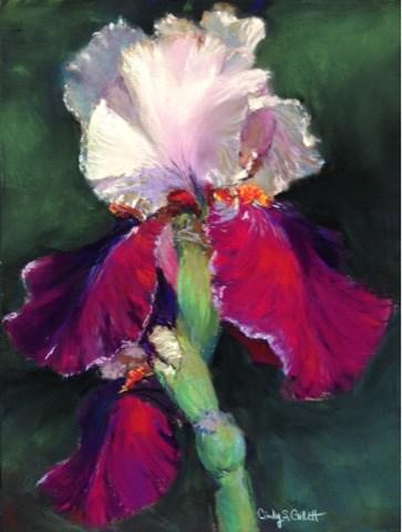 """""""Botanical Garden - 2"""" original fine art by Cindy Gillett"""