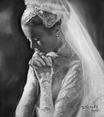 """Grace"" original fine art by Denise Henley"