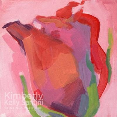 """RoseTendril"" original fine art by Kimberly Santini"