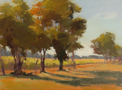 """Autumn Beckons"" original fine art by Laurel Daniel"