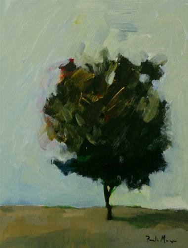"""Spring Tree V"" original fine art by Pamela Munger"