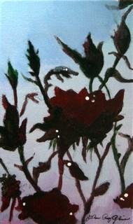 """Evening Roses"" original fine art by JoAnne Perez Robinson"