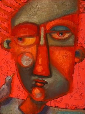 """Fine Feathered Friend"" original fine art by Brenda York"
