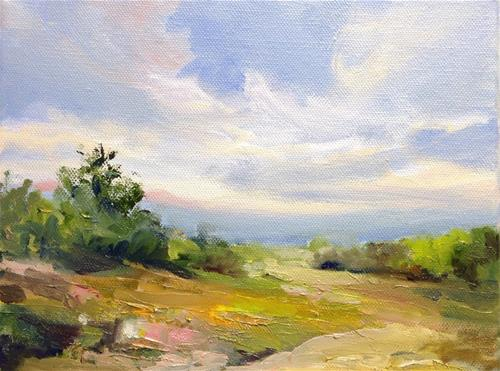 """""""Valley Colours"""" original fine art by Cathy Boyd"""