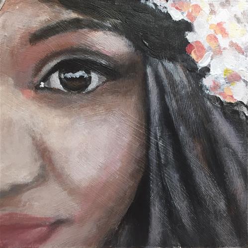 """""""Joy"""" original fine art by Melissa Gresham"""