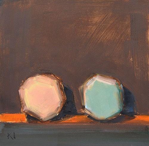 """More Macarons"" original fine art by Kevin Inman"