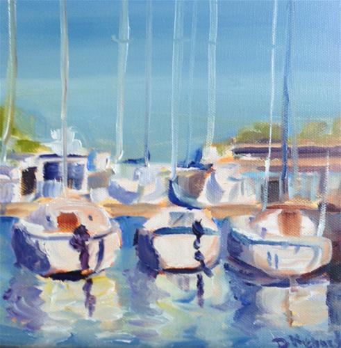 """Sail Away"" original fine art by Debra Kennedy"