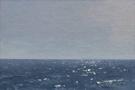 """Seascape No. 8"" original fine art by Abbey Ryan"