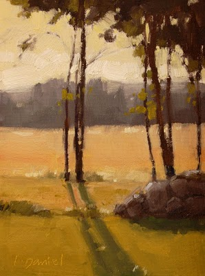 """Pastureland Study"" original fine art by Laurel Daniel"