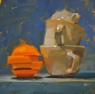 """Jengafied"" original fine art by Carol Marine"