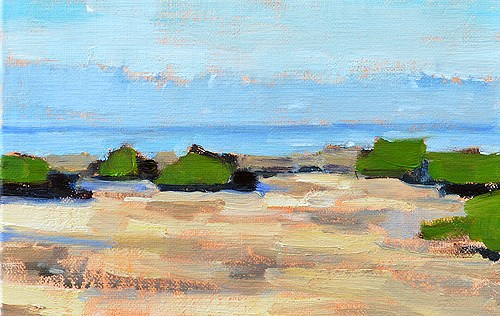 """""""Crystal Cove Painting"""" original fine art by Kevin Inman"""