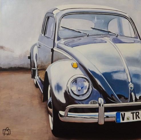 """""""VW Bug"""" original fine art by Andre Beaulieu"""