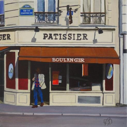 """""""Patissier"""" original fine art by Andre Beaulieu"""