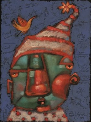 """Emergency Landing"" original fine art by Brenda York"