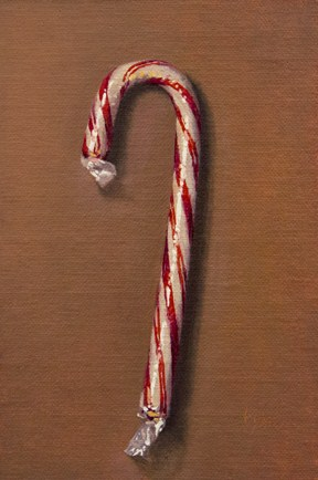 """Candy Cane, 2012"" original fine art by Abbey Ryan"