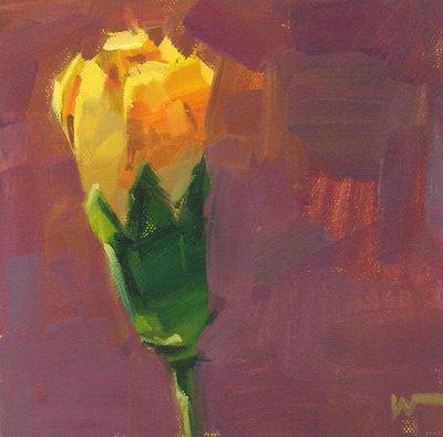 """""""Carnation 3"""" original fine art by Carol Marine"""