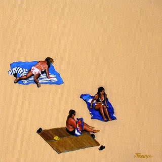 """The Three Graces"" original fine art by Jelaine Faunce"