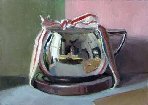 """2- The Gift"" original fine art by Ed Watson"