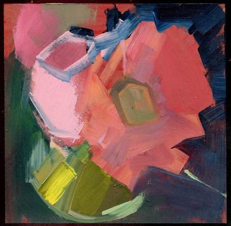 """2309 'It was a Friendly, Clumsy Dorsal Fin'"" original fine art by Lisa Daria"