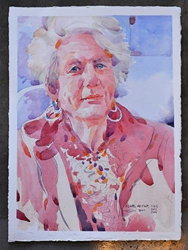 """""""Annette"""" original fine art by Michael Holter NWS"""