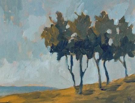 """Tree Peace"" original fine art by Pamela Munger"