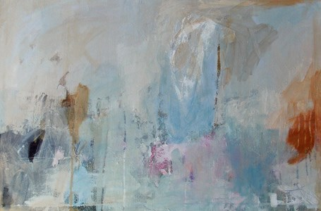 """When I Look Back"" original fine art by Pamela Munger"